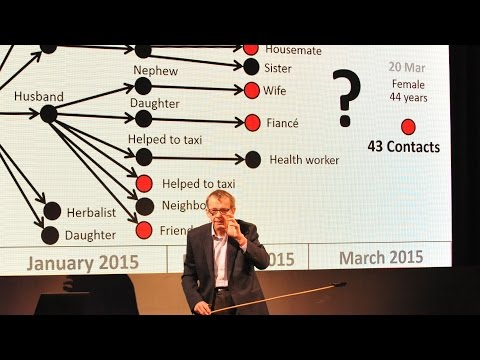 Hans Rosling Demonstrates How Ebola Spreads - BBC World Service