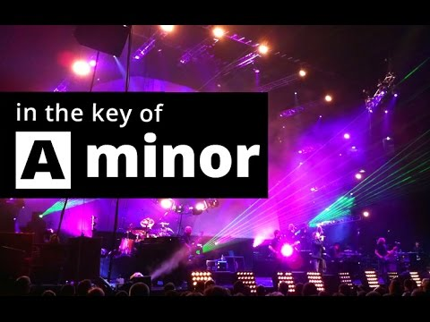 PINK FLOYD style Backing Track in A MINOR - Am SAD BLUES Backing Track