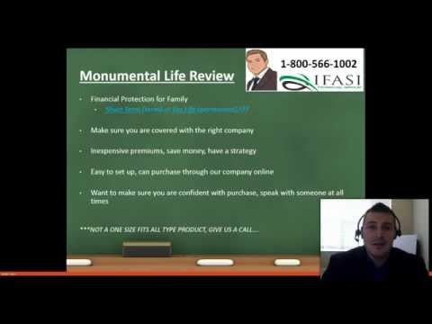Monumental Life Insurance **WARNING** Monumental Term Life Insurance Review