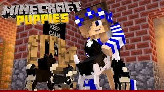 minecraft little carly adventures my dog has puppies