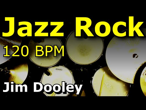 Drum Loops - Jazz Rock 120 BPM JimDooley.net
