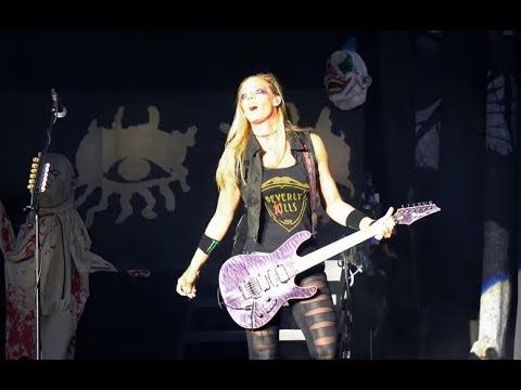 """Nita Strauss releases video for """"Mariana Trench"""" off """"Controlled Chaos"""" + tour..!"""