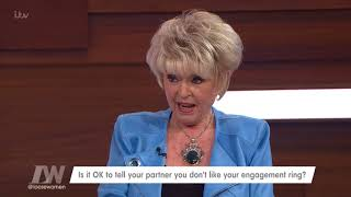 Is It Ok to Tell Your Partner That You Don't Like Your Engagement Ring? | Loose Women