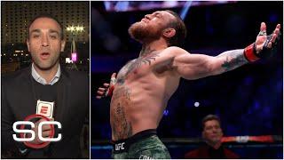 Así vivió Adal Franco la relampagueante victoria de McGregor en su regreso a la UFC | SportsCenter