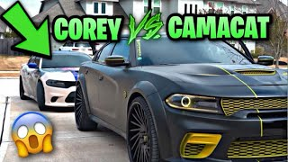 I RACED CAMAKAT IN MY HELLCAT