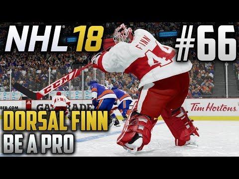 NHL 18 Be a Pro | Dorsal Finn (Goalie) | EP66 | GOALIE GOAL!!!