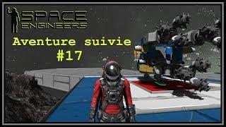 |Space Engineers| Aventure suivie #17 - Les merge blocks, quel bonheur!
