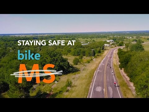 Staying Safe at Bike MS