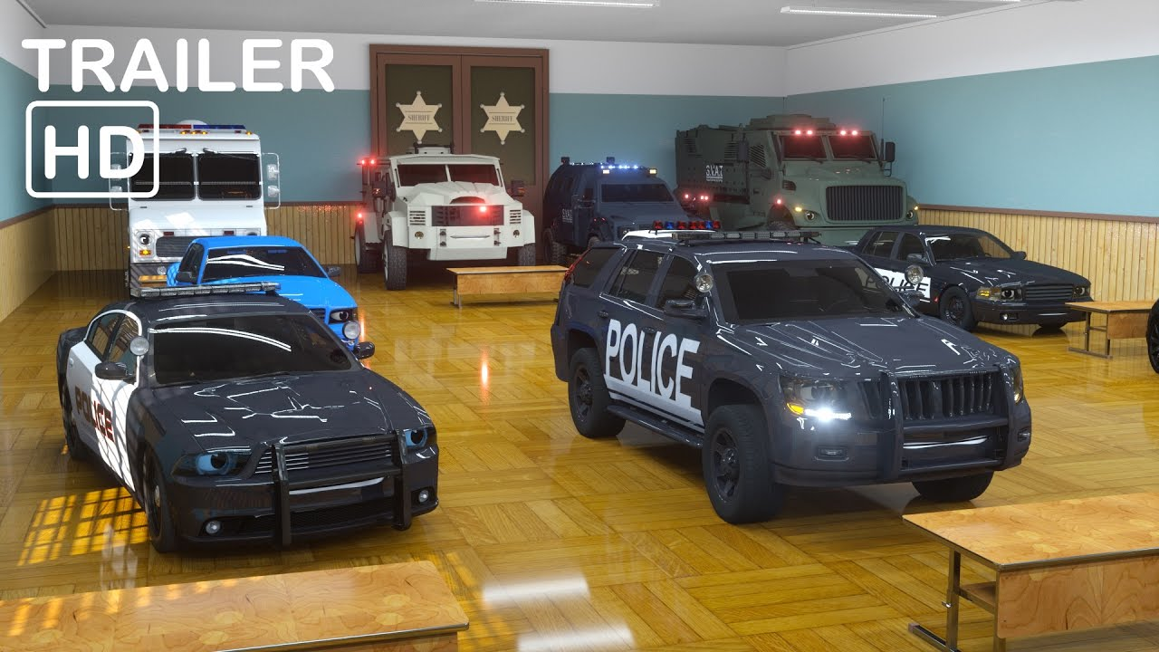 Sergeant Cooper the Police Car 2  - Trailer -  Real City Heroes (RCH) | Videos For Children