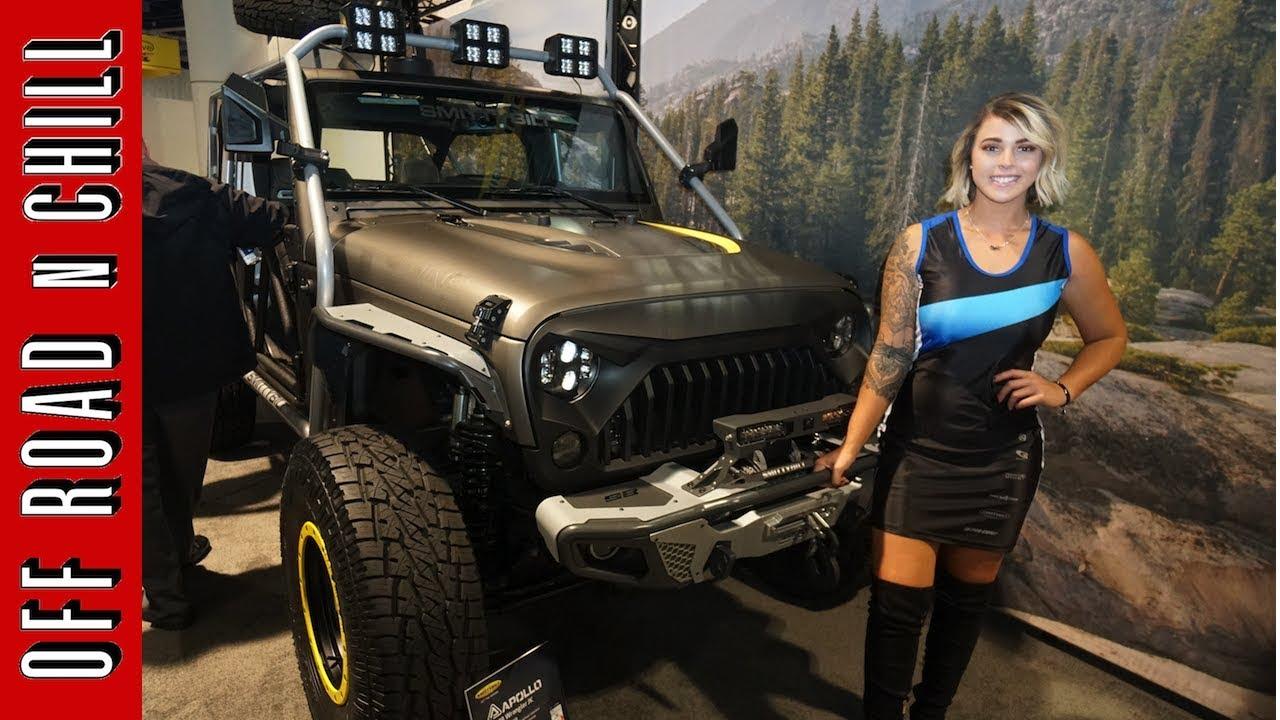 Smittybilt And Alpine Jeep Wrangler Jk Jeep Parts Sema