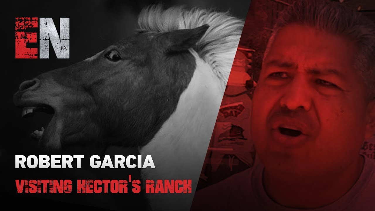 Robert Garcia Visiting Hector's Ranch Down The Street From The Gym  EsNews Boxing