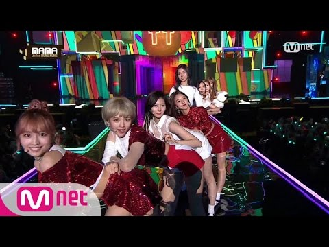 Thumbnail: [2016 MAMA] TWICE - CHEER UP + TT