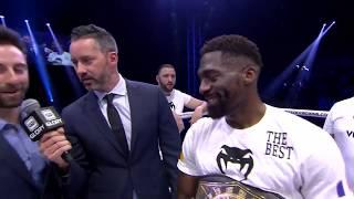 GLORY 64: Cedric Doumbe Post Fight Interview