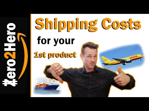 Shipping cost explained for amazon FBA | SEA VS. AIR