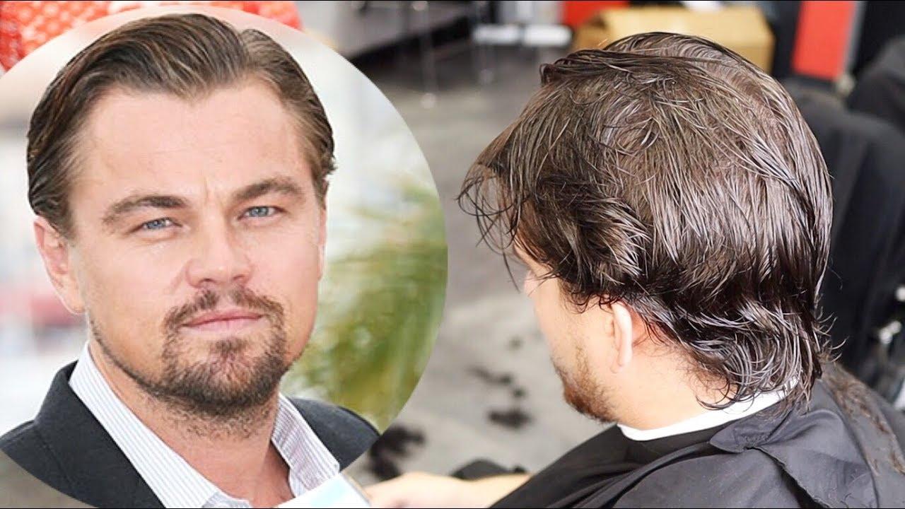 How To Do Leonardo Dicaprio Haircut! HD 5