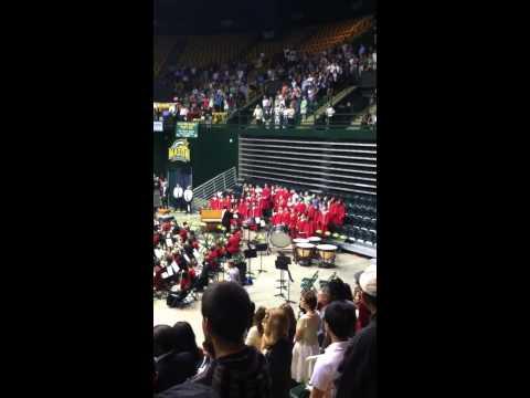 National Anthem @ Herndon Graduation 2013