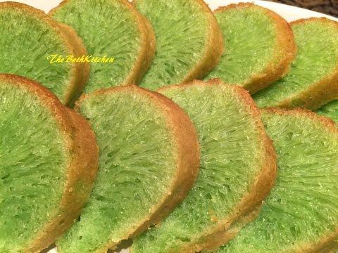 Vietnamese Honeycomb Cake - Bánh Bò Nướng