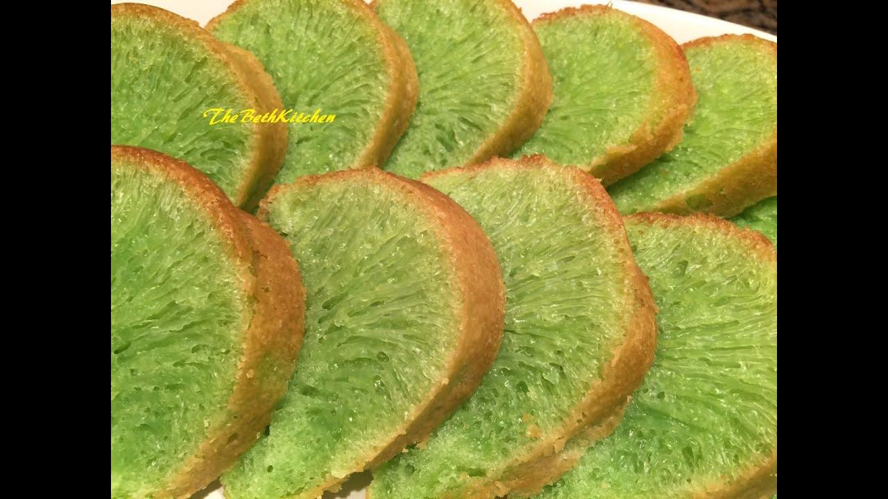 Bánh Bò Nướng – Vietnamese Honeycomb Cake