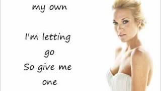 Carrie Underwood - Jesus Take the Wheel (with lyrics on screen)