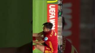 Österreich gegen Spanien Elfmeterschießen Teil 2
