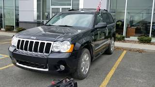 2008 Jeep Grand Cherokee 3.0L Diesel Pre Purchase by Car Inspected in Boucherville