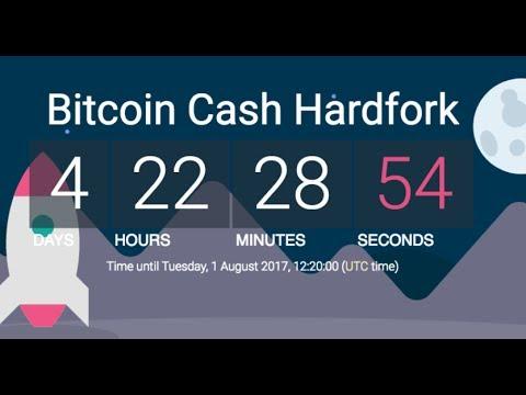LIVE - Bitcoin Cash Hardfork Countdown