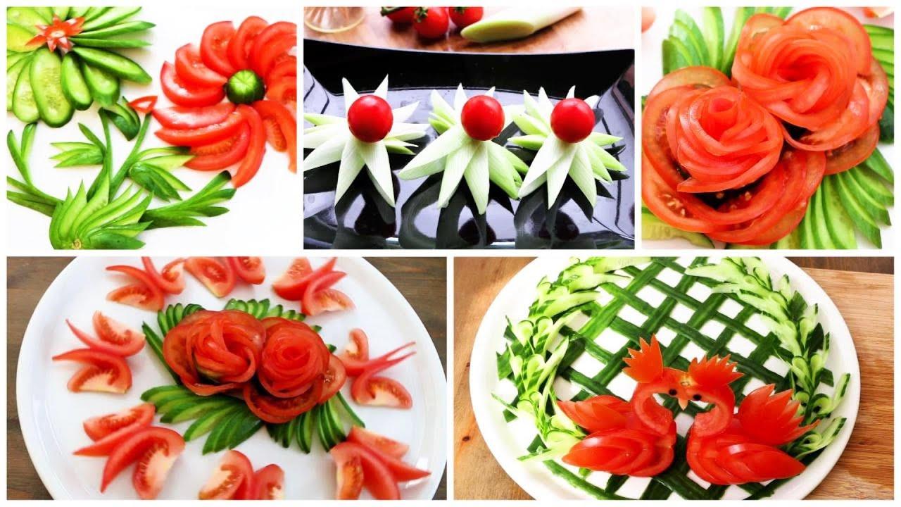 5 Super Salad Decoration Ideas for Masterchef Food Garnish