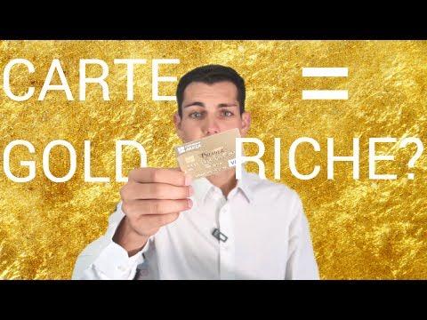 CARTE GOLD, QUELLE DIFFÉRENCE ?
