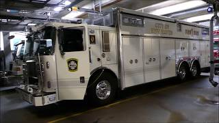 NHFD 1800 tone test and surprise run for Engine 8
