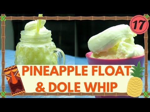 Chef Dave   Pineapple Float & Dole Whip   Inspired Walt Disney World Magic Kingdom   KrispySmore