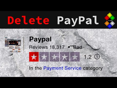 Delete Paypal Financial | Censorship Part 1