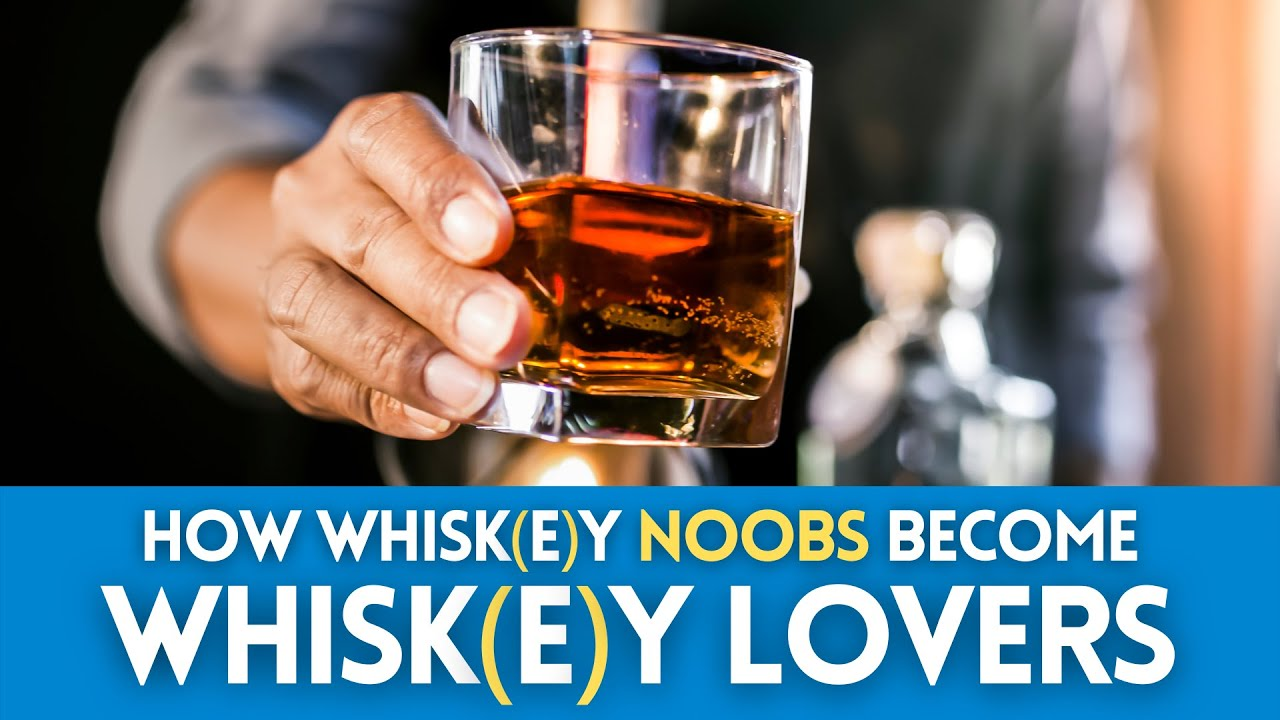 How to turn whiskey NOOBS into whiskey LOVERS like a PROFESSIONAL.
