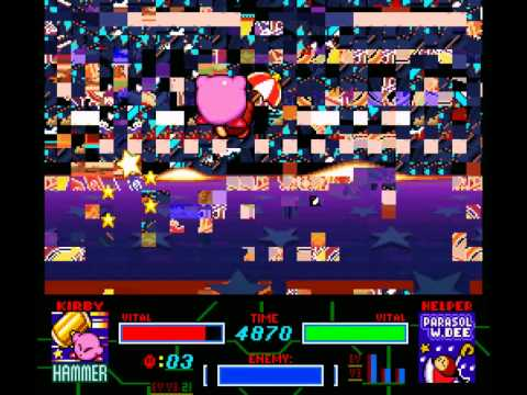 Kirby Super Star Glitch