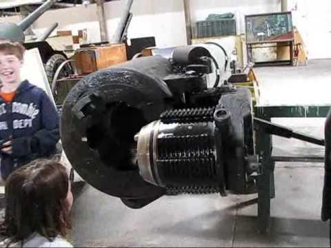 Modern Cannon Breech Demo  Watervliet Arsenal Museum