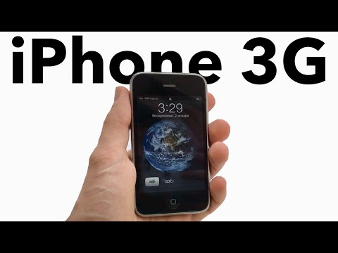 Обзор Apple iPhone 3G в 2020 году