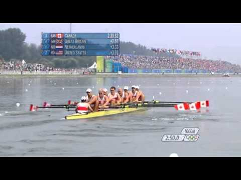 2008 Beijing Olympics: Men's 8+ Rowing Final (BBC Commentary)