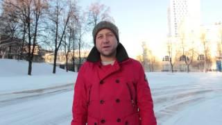 """Георгий Дронов для телемарафона """"321-й сибирской"""""""