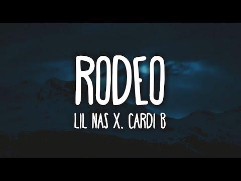 Lil Nas X - Rodeo Ft. Cardi B (Clean - Lyrics)