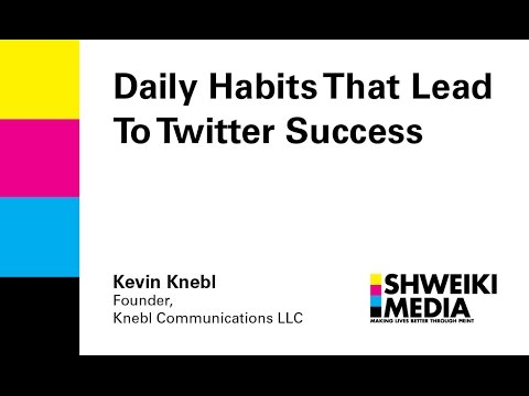 Daily Habits That Lead To Twitter Success
