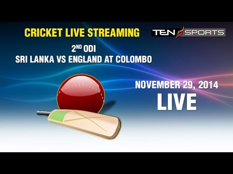 CRICKET LIVE STREAMING: 2nd ODI - Sri Lanka v/s England, Colombo