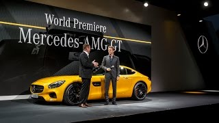 Nico Rosberg Unveils the Stunning New Mercedes-AMG GT!