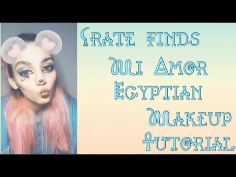 Crate Finds Egyptian Makeup Tutorial