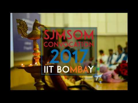 55th Convocation of SJMSOM, IIT Bombay