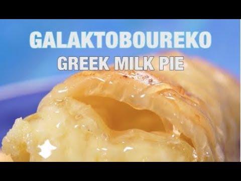 Galaktoboureko Greek Milk Pie Recipe