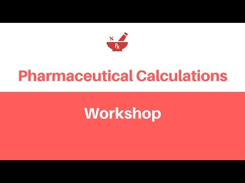 Pharmaceutical Calculations Workshop on NAPLEX® Type Questions by RxCalculations