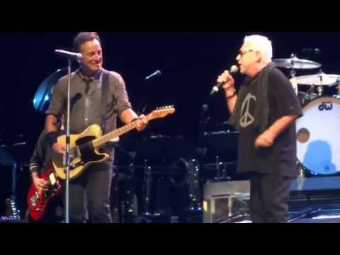 Bruce Springsteen - 2013-07-23 Cardiff - We Gotta Get Out Of This Place (with Eric Burdon)