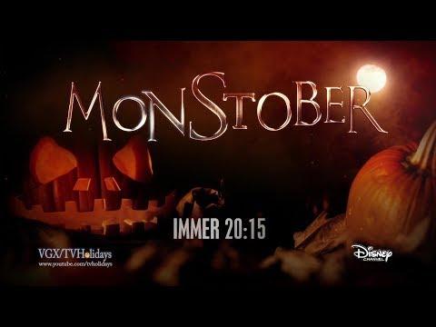 Disney Channel HD Germany Monstober Advert 2019 Halloween