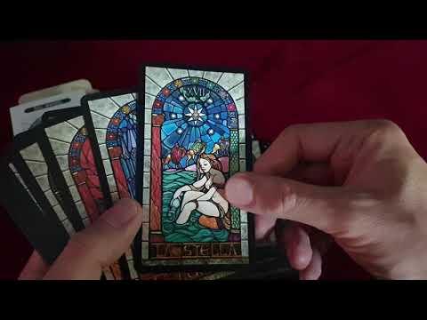 Taroccho delle vetrate - Tarot des vitraux vidéo