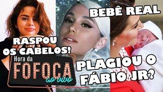 🔥Fãs brasileiros acusam Ariana Grande de plagiar sucesso de Fábio Jr | Selena Gomez raspa os cabelos