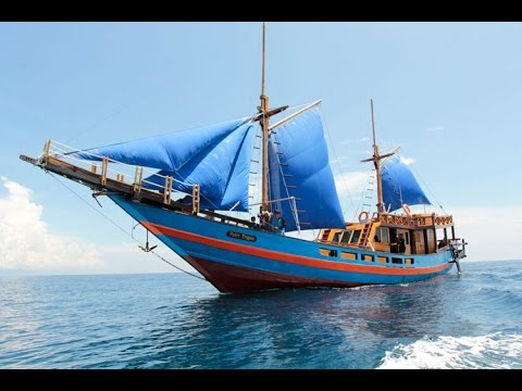 Building History of Tropic Princess Phinisi Sailing Boat South Sulawesi Indonesia
